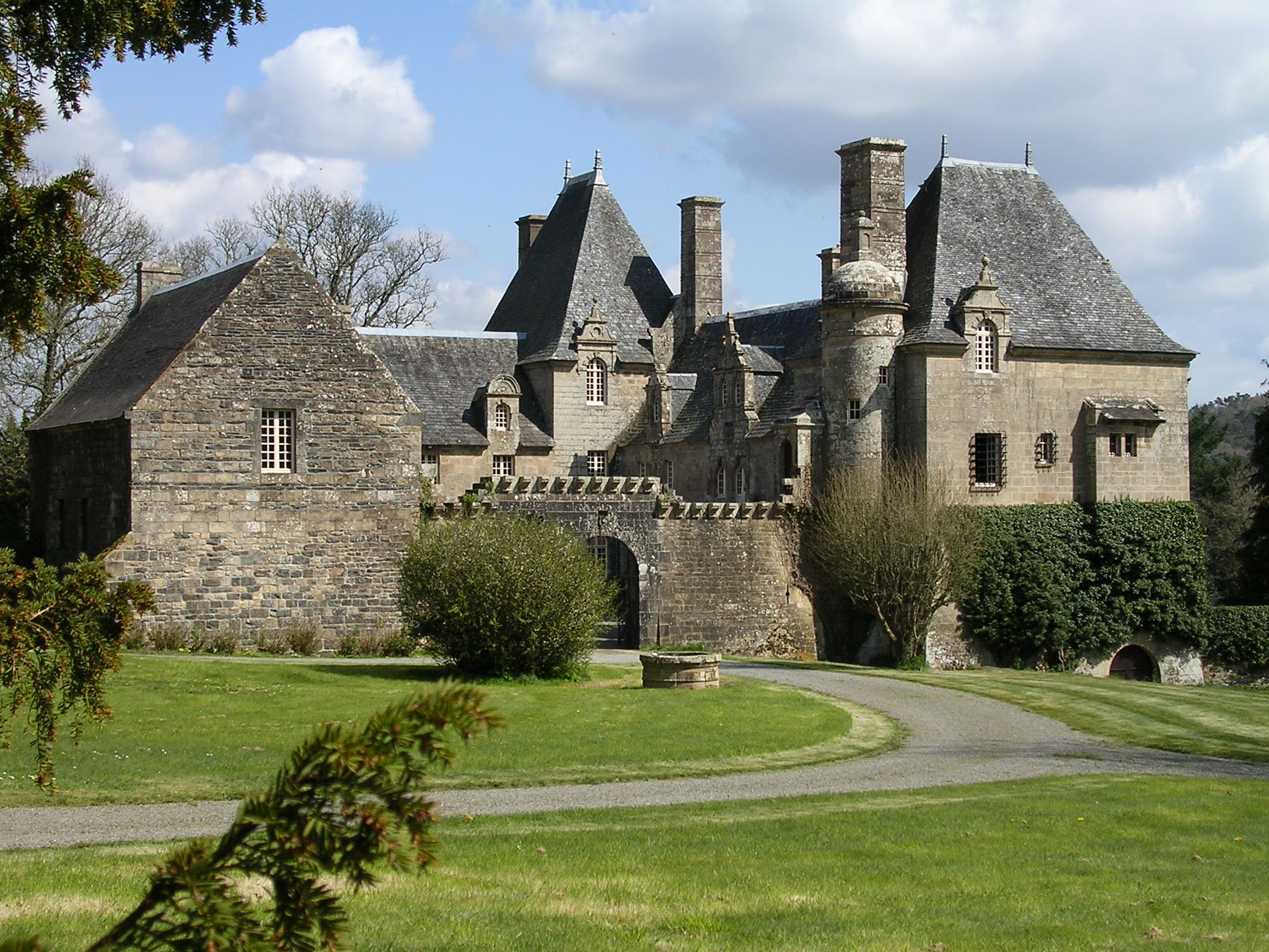 Le charme des ch teaux et manoirs en bretagne for Conception de plans de manoir