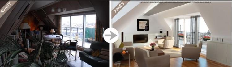 home staging r am nager et d corer sa maison sans se ruiner le blog viaprestige immobilier. Black Bedroom Furniture Sets. Home Design Ideas