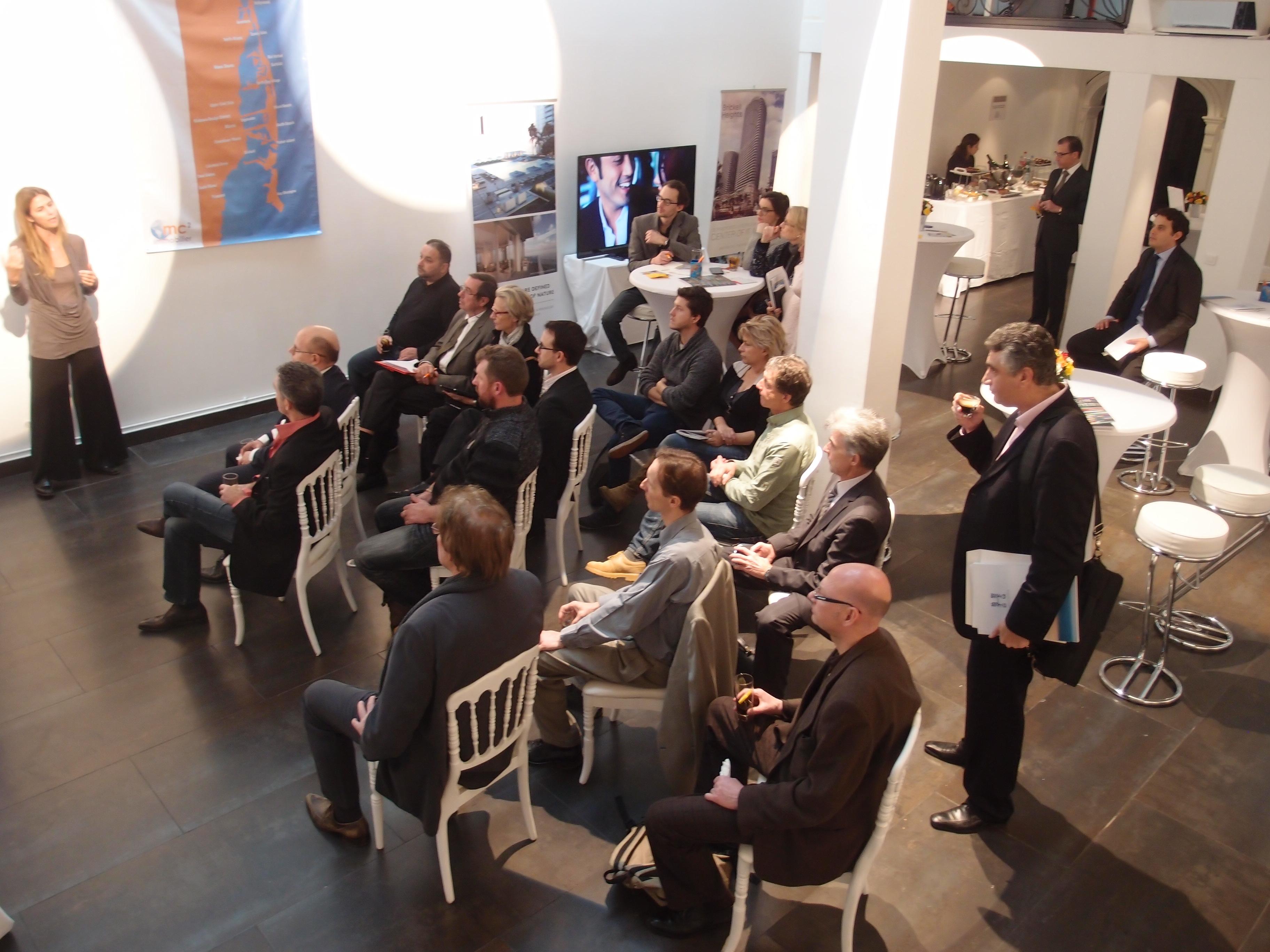 Presentation privee de MC2 immobilier a Paris