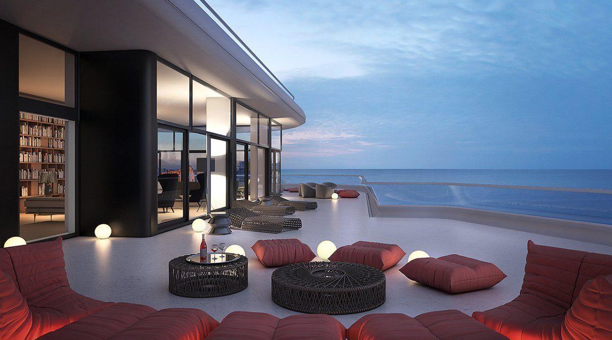 Penthouse de luxe et profit court terme sur miami beach - Immobilier de luxe penthouse manhattan ...