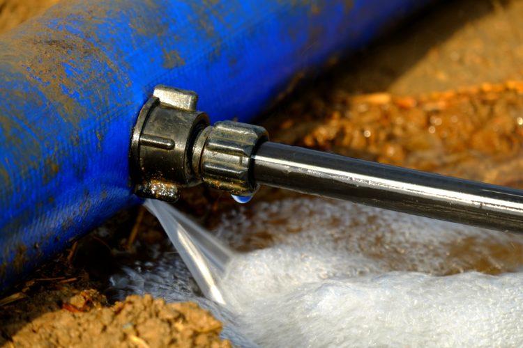 recherche fuite d'eau